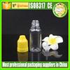 Malaysia 20ml plastic bottle cosmetics plastic bottle for eliquid and eye dropper PET