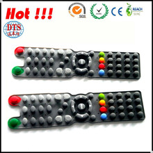 Durable silicone rubber keypad for bluetooth mobile devices