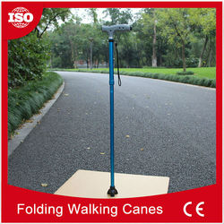 Many specialized equipment Smart Elderly aluminium walking sticks