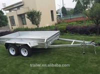 10x5 Tandem Axle Fully Welded Box Trailer