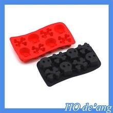 HOGIFT diamond shape food grade customed silicon ice tray,slicone ice cube tray /ice ball