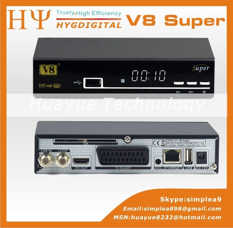 Origine dvb - s2 V8 Super 1080 P hd récepteur satellite soutien cccam newcams