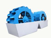 Hydraulic Dewatering Multi-functional Wheel vibration screen Sand washing machine