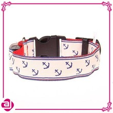 High quanlity glow in dark training dog collar with hooks
