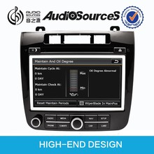 auto parts vw touareg with bluetooth OPS IPAS steering wheel control Oil Air display HD video 1080p DVR camera