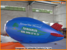 PVC advertising inflatable helium blimp airship