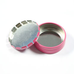 new product 15ml click clack small gear box round cosmetic box