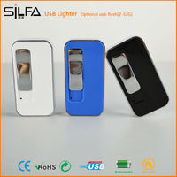 Silfa promotional funny electronic usb normal lighter