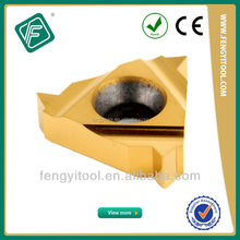 NPTF Indexable Carbide Profile Steel Pipe Thread Cutting Tools