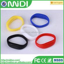 usb flash silicone bracelet usb wrist band , usb 2.0 flash drive,