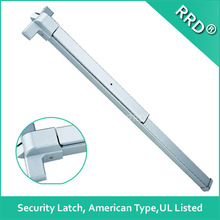 UL Listed Security Latch Push Bar,Allen Key Dogging,RRD-161 ,RRD Lock