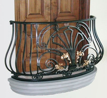 GYD-15B056 Ornamental Cast Iron Fence & Ironwork wicker set for balcony