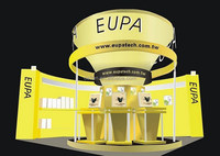 Hanging banner exhibition stand builders,exhibition stall design,portable exhibition panels