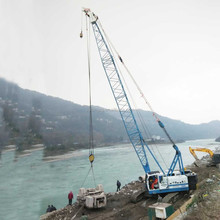 YUTONG Professional And Hoisting capacity Big 80ton Hydraulic Crawler Crane