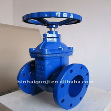 High Precision BS Non-rising Stem Resilient Seated Gate Valve