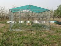 Large dog running house, running kennel