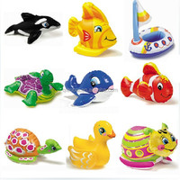 Summer beach swimming toys intex 58590 child water toy animal inflatable toys
