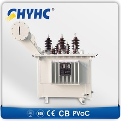 Oil Immersed 33/0.4 KV, Copper Material Winding 16KVA small electrical transformer $1667/set