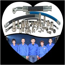 China manufacturer high working pressure power steering rubber hose