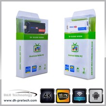 OEM & ODM Android 4.4 smart tv stick RK3288 4K dongle Android 4.4 MINI PC Smart TV stick Quad Core 8GB WiFi Wifi dongle
