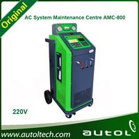 HOT Sale!!! AMC-800(220V/110V) A/C System Maintenance Centre (flush, recovery, vacuum, recharge) Air Condition car Service