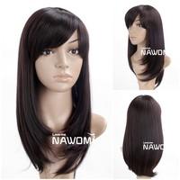 modern Kanekalon human hair wig hot sale