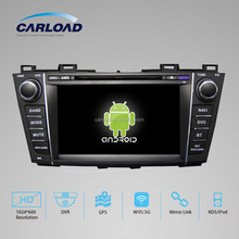 Wholesale 8in capacitive screen car dvd player for Mazda 5 with canbus usb,gps,bt,1080p v