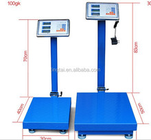 60kg to 5ton 30x40cm to 3mx3m platform scale weights,bench weighing scales