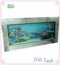 NEW ALUMINUM WALL HANGING AQUARIUMS,WALL-MOUNTED FISH TANK