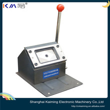 custom different shape and size manual pvc card puncher