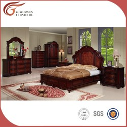 wholesale cheap elegant king size bedroom sets wa142