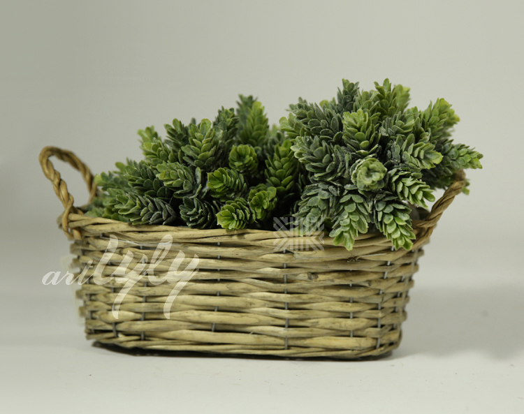 Hot Sale Cheap Wicker Flower Pots For Home Decor Wholesale