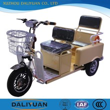 electric passenger tricycle 3 wheel motorcycle with roof