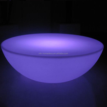 16color changing led round coffee table pub furniture