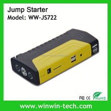 High efficiency air pump car jump starter With LCD display to show capacity