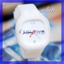 Best Price Customized Print Logo Fashion Jelly Candy Mechanical Watch