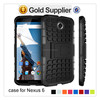 2 in 1 combo belt clip case for goggle nexus X hybrid with stand case for MOTO nexus 6