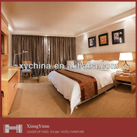 Used Hotel bedroom furniture for sale with TV panel XY-PT-03