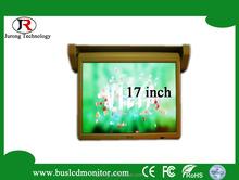 1080P 17inch motorized car tft lcd monitor