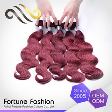 Best Factory Direct Sales Simple Attractive And Durable 99J Colored Red Green Yellow Hair Extensions