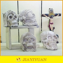 Resin Crafts Human Skull Decorative Model Personalized Piggy Bank for Halloween Gifts