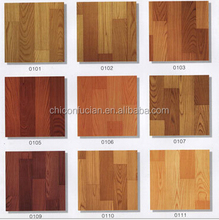 """0.35mm*72""""*30mtrs non woven colorful vinyl flooring exported to South Africa"""