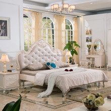 princess style classic design bedroom furniture bed