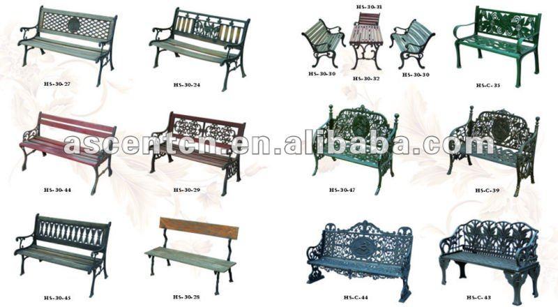 mobiliario urbano jardim : mobiliario urbano jardim:urbano, Ferro banco de parque, Banco pernas-Conjuntos de jardim