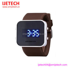 Fashion silicone watch, colourful silicone LED watch