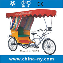 pedicab man powered cargo tricycle 26""