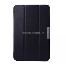 Foldable Crazy Horse 7 Inch Leather Tablet Case for Samsung Galaxy Tab4
