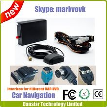 Car Navigation with pecial interface and connection, Car GPS for Alpine Kenwood Pioneer JVC SONY DVD