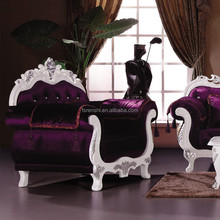 Luxury red two seat velvet wedding lounge furniture1 2 3 on sale