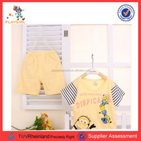 2015 Animals baby clothings quality skin cared organic cotton newborn baby clothings PGGD-0564